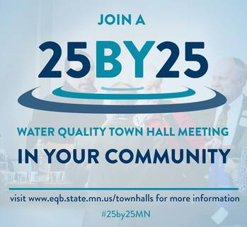 Join a #25by25MN Town Hall in Your Community