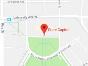 Map of Minnesota State Capitol