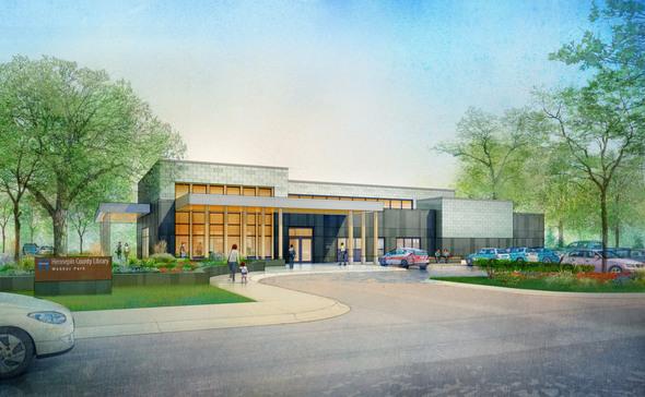 Webber Park Library Rendering
