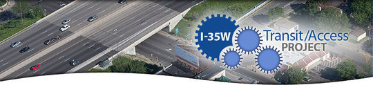 i-35w access project banner