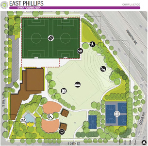 East Phillips Park Drawing