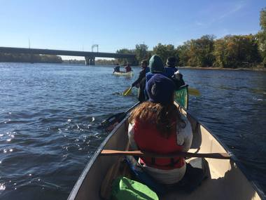 Youth canoes