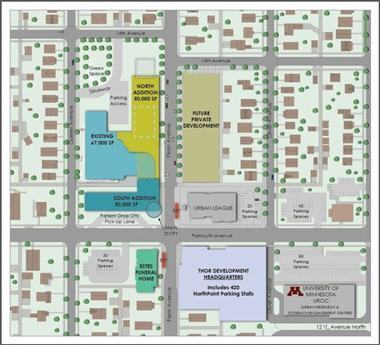 NorthPoint site map