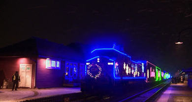 Holiday train image
