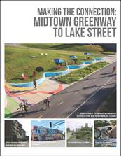 Making the Connection: Midtown Greenway to Lake Street plan cover