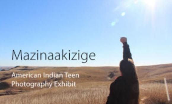 Library_Mazinaakizige exhibit