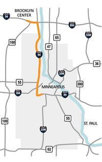 I-94 MnDOT map