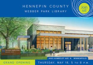 Webber Park Library invitation