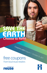 Choose to Reuse coupon book cover 2017