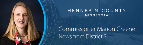 Commissioner Marion Greene - News from District 3