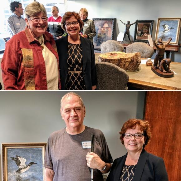 Debbie with Suzanne Runte and Ken Dobratz