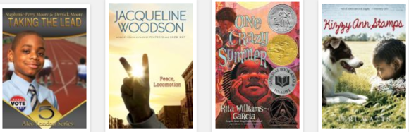 African American fiction book list covers