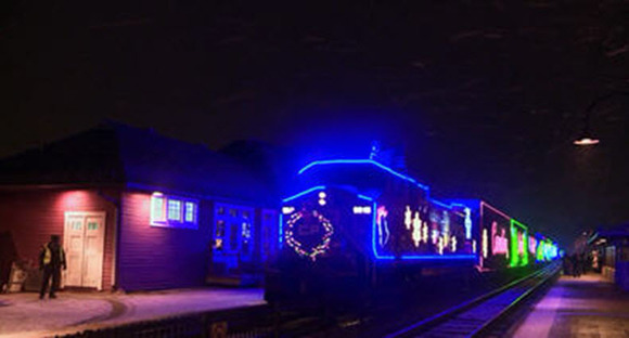 CP Rail holiday train