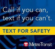 metro transit text