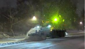 snow salt truck