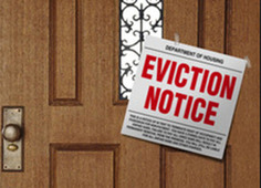 eviction notice graphic