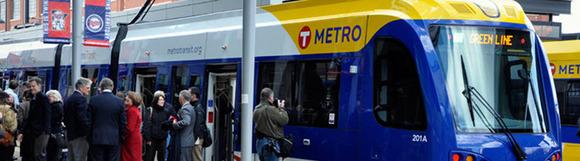 Green line LRT image