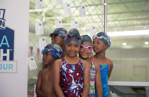 make a splash - girls swimming