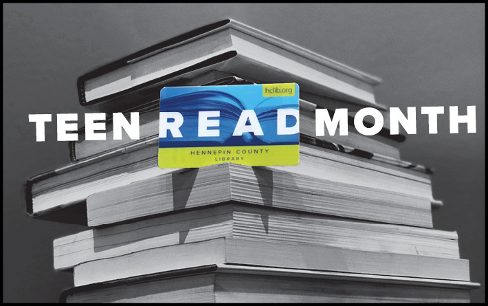 Teen Read Month logo