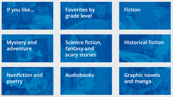 Children's book list categories