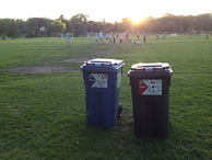 Park recycling