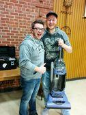 Fix-It Clinic successful vacuum repair
