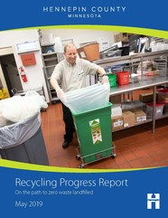 Annual recycling progress report