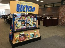 Recyclo display at Washburn