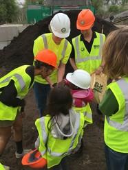 Compost site tour