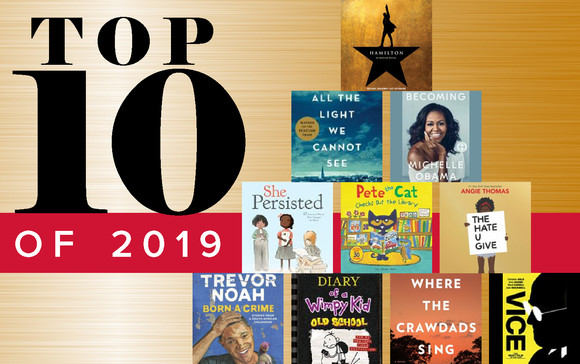Top 10 lists of 2019