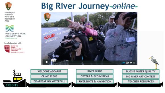 Screenshot of Big River Journey Online