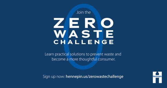 Join the Zero Waste Challenge graphic