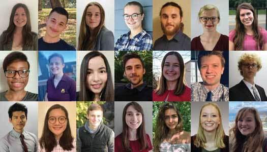 collage of MNTap interns