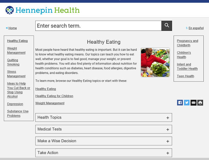 healthwise healthy eating small