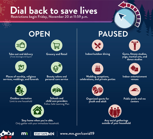 dial back