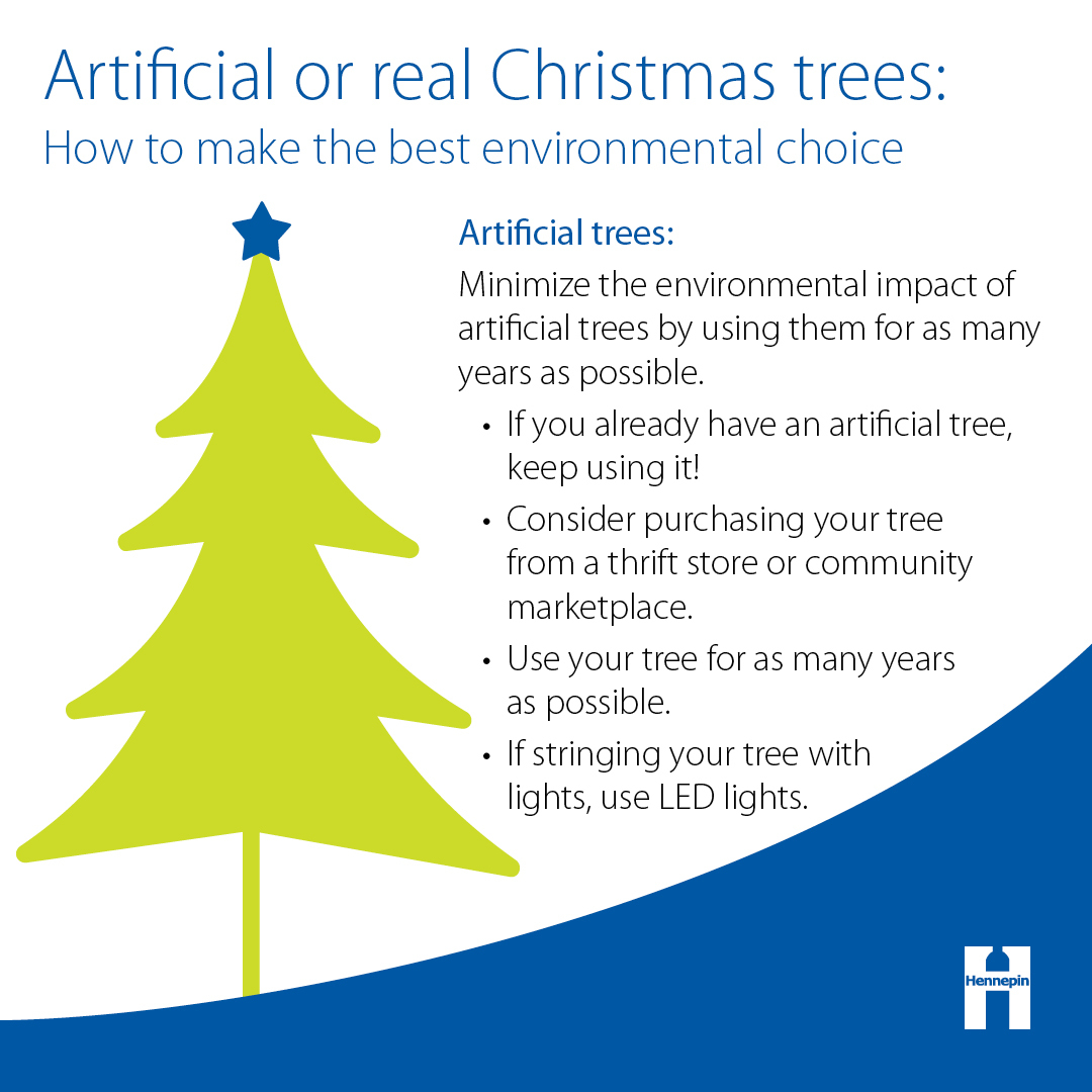 Tips for purchasing an artificial Christmas tree
