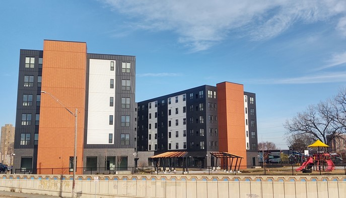 Red Lake Band of Chippewa Indians' apartment project support by ERF in Minneapolis