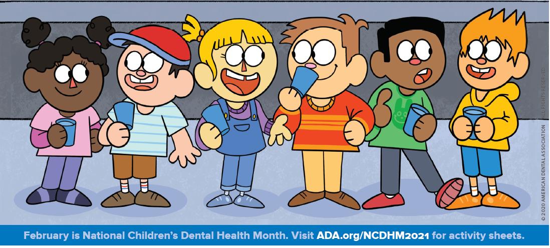 childrens dental month