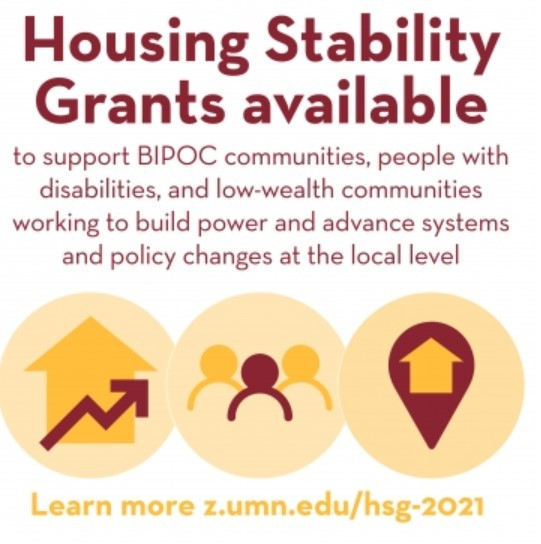 UMN Housing Stability grants