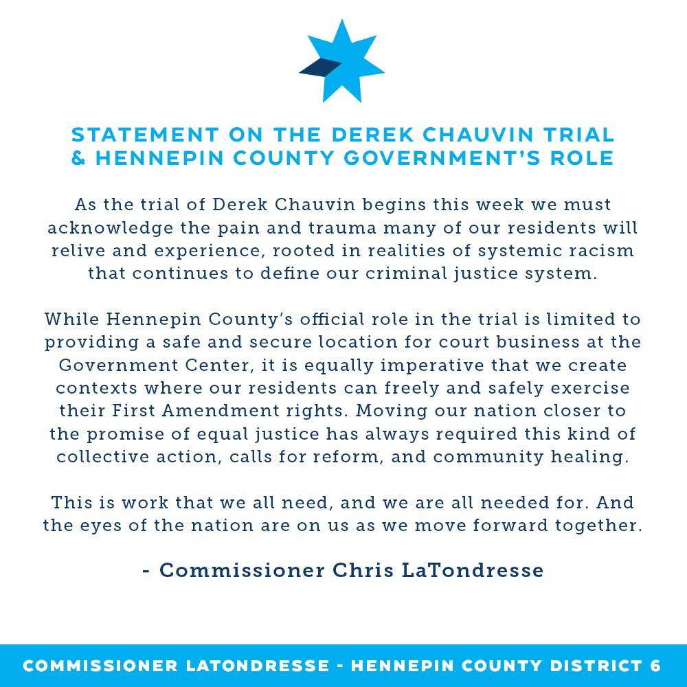 Graphic of statement