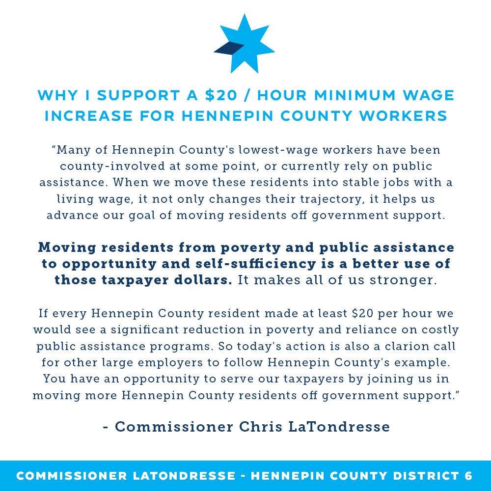$20 wage increase full statement