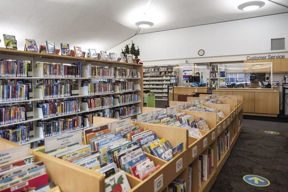 Picture of a library