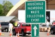 Hazardous Waste Collection sign