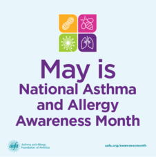 May is asthma month