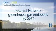 Net Zero by 2050 Graphic