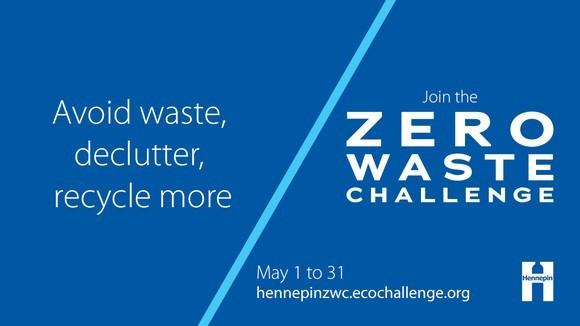 Zero Waste Challenge Graphic