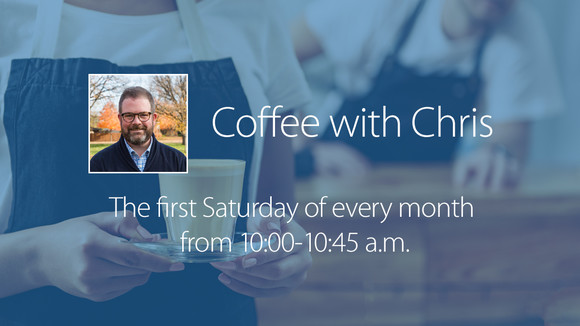 Coffee with Chris Graphic
