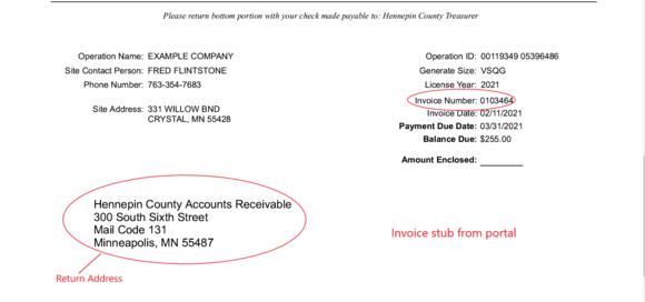 Invoice example 2