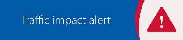Traffic Impact Alert Graphic