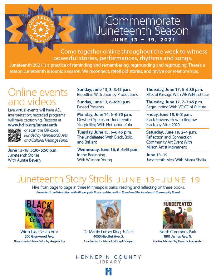 HC Library Juneteenth Events